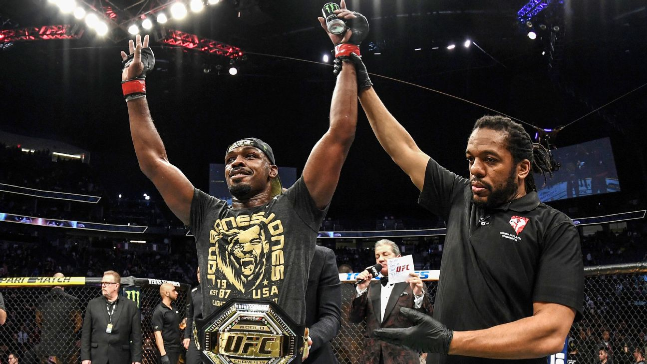 Jon Jones solidifies top spot in ESPN pound-for-pound MMA rankings 865ce3b38