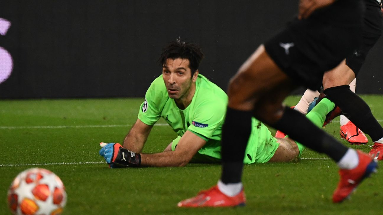Gianluigi Buffon's mistake on Man United's second goal is just the latest chapter in the Italian's cruel Champions League nightmare.
