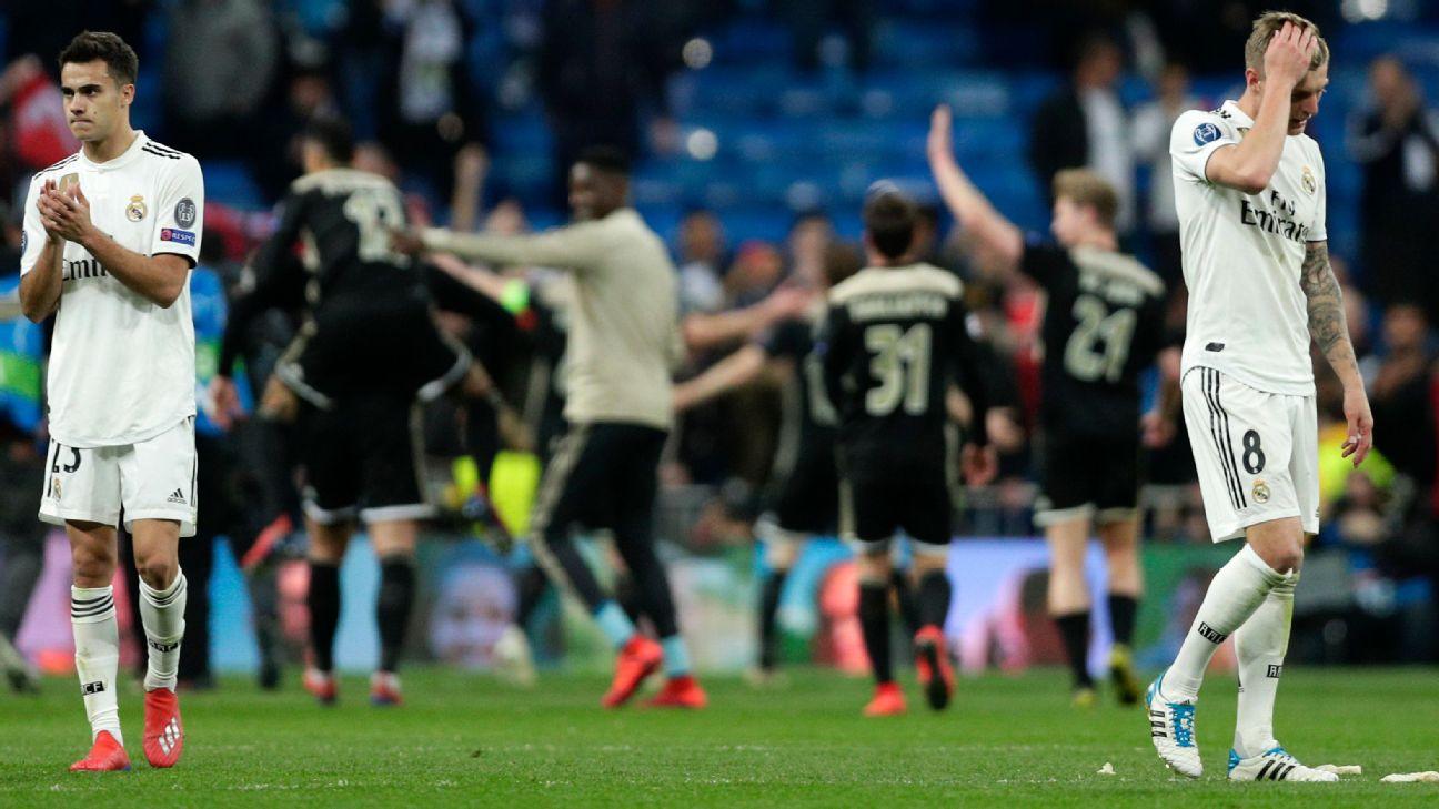 La eliminación del campeón Real Madrid fue uno de los pasajes increíbles de  los octavos de final de la Champions League. 9d4edab61ed11
