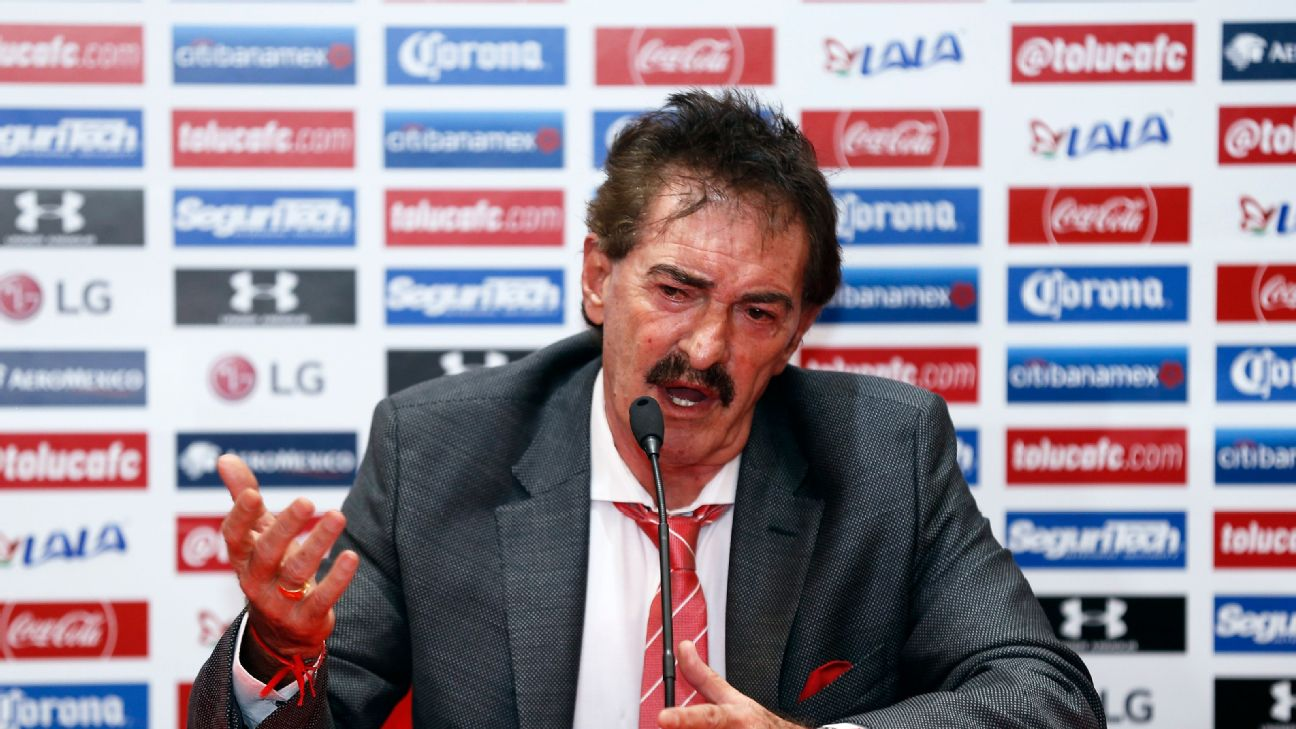 Seventeen years after his first stint at Toluca ended, Ricardo La Volpe will be back on the touchline this weekend for Los Diablos Rojos.