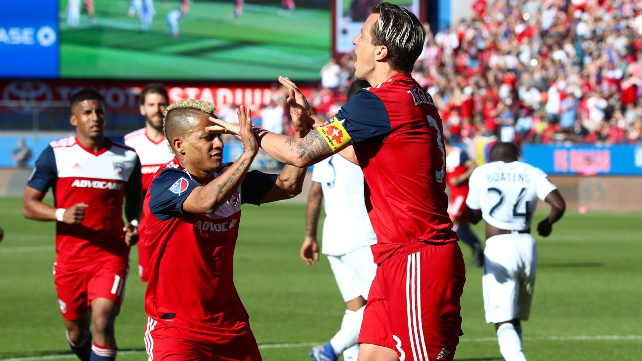 FC Dallas blanks Galaxy as Ibrahimovic sits out with Achilles injury