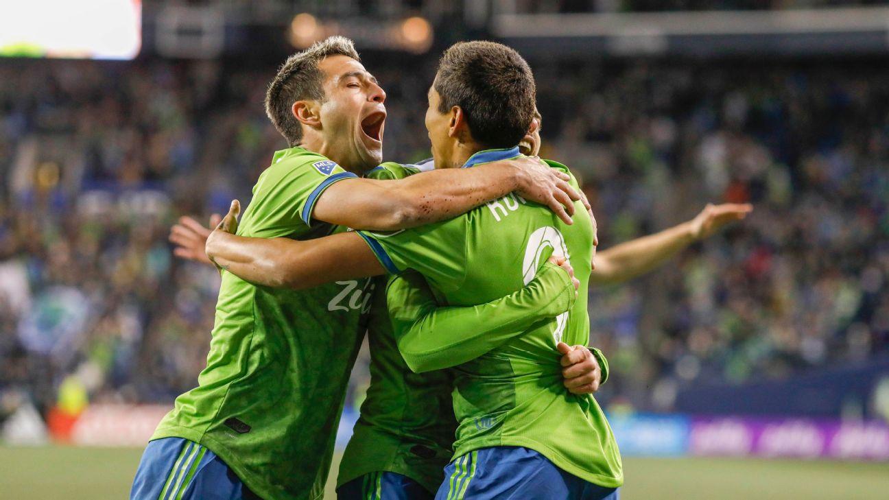 Kelvin Leerdam and Raul Ruidiaz on target as Seattle Sounders blank Colorado Rapids