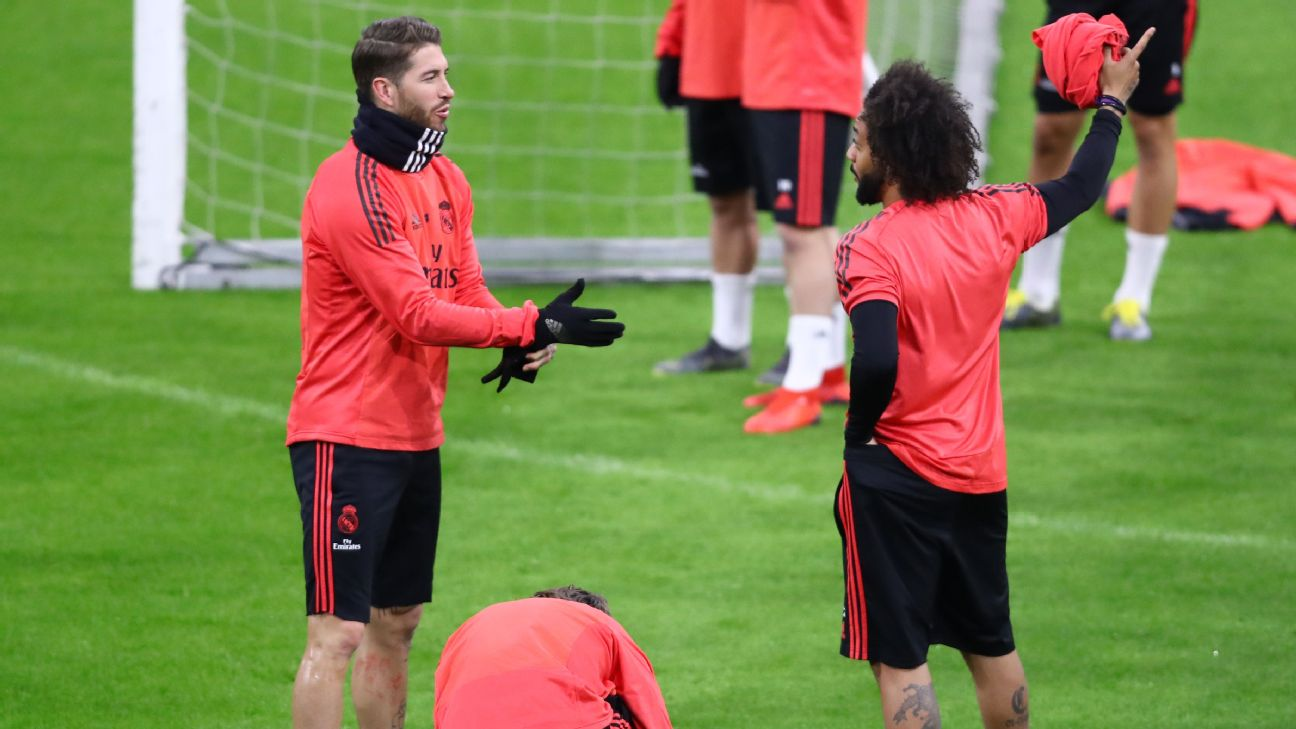 Marcelo and Sergio Ramos, Real Madrid
