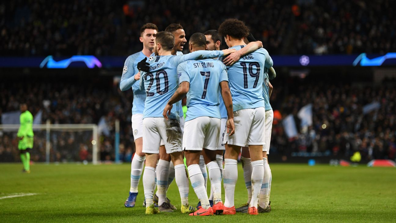 Manchester City vs. Schalke 04 - Football Match Report - March 12, 2019