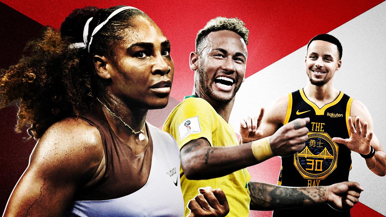 ESPN World Fame 100 2019