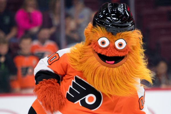 Flyers mascot cleared of alleged assault