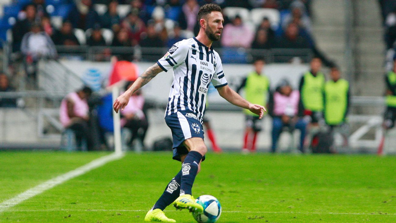 Miguel Layun is one of five Monterrey players that will represent Mexico in the upcoming friendlies.