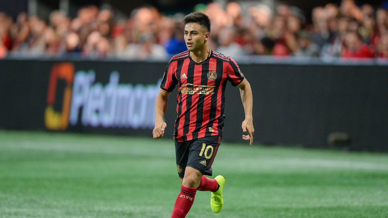 Gonzalo 'Pity' Martinez is the latest South American star to arrive in Atlanta following the likes of Miguel Almiron, Hector Villalba and Ezequiel Barco.