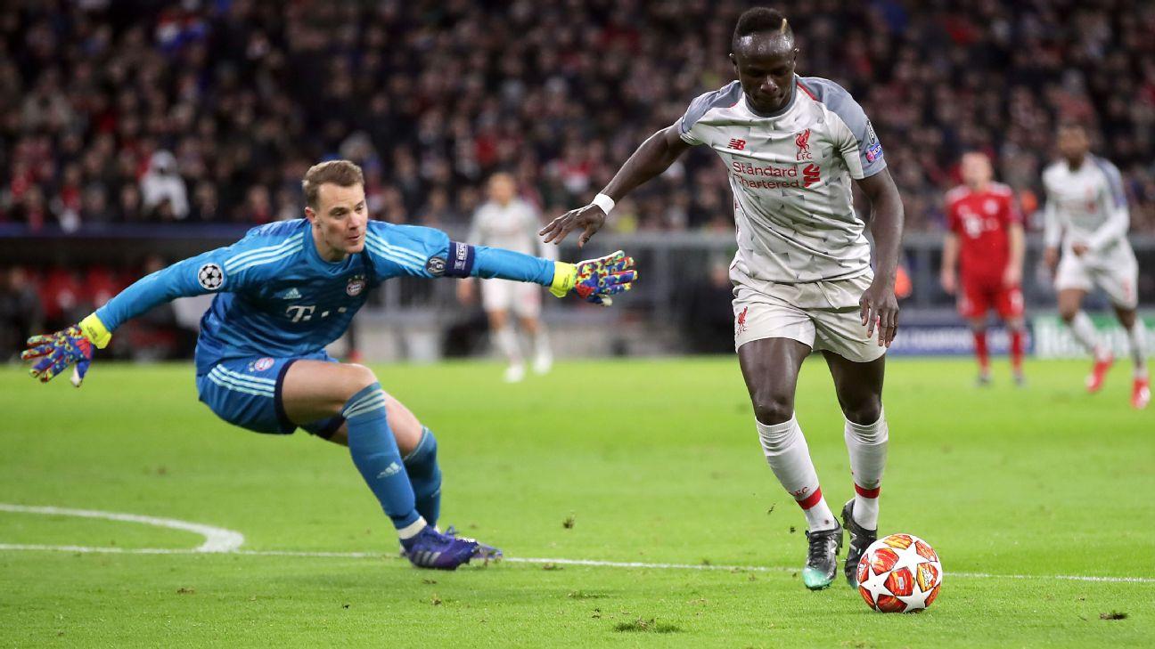 Resultado de imagem para Liverpool vence Bayern em Munique e vai às quartas da Champions League