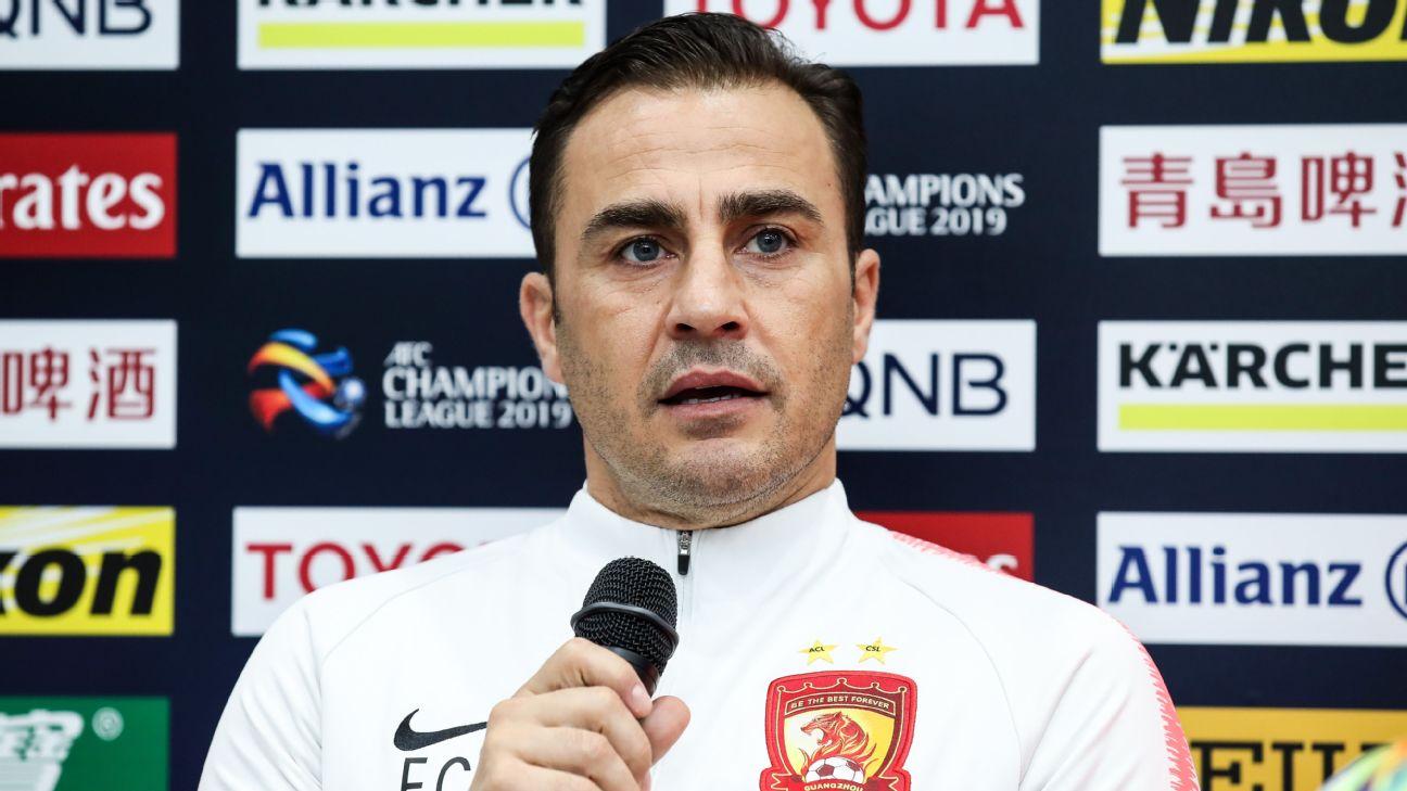 Fabio Cannavaro, Guangzhou Evergrande