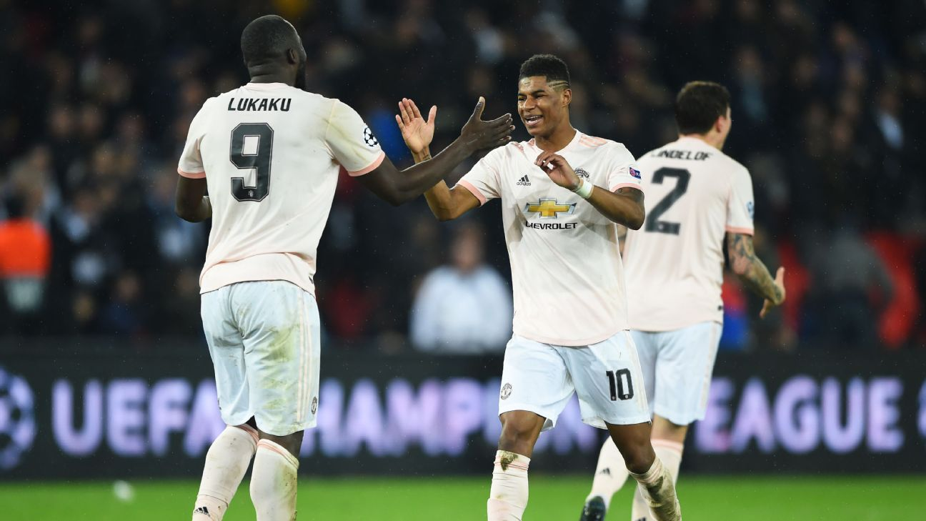 Marcus Rashford and Romelu Lukaku have developed a successful partnership since Ole Gunnar Solskjaer took over at Man United.