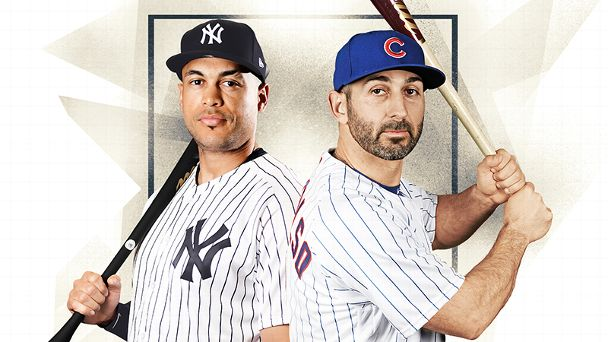 MLB's David vs. Goliath: Will Daniel Descalso outhit Giancarlo Stanton this year?
