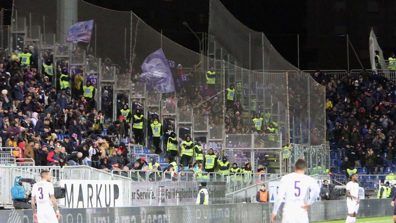 Crowd, Cagliari-Fiorentina