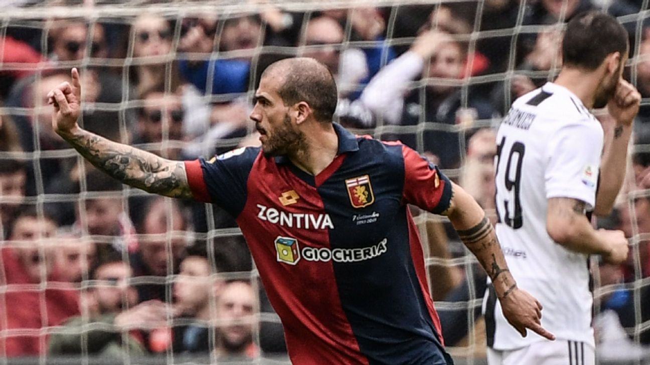 Juventus beaten in Genoa after Ronaldo was left out of squad 2