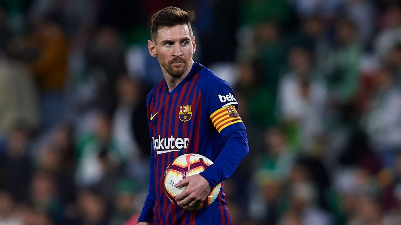 Lionel Messi's 51st career hat trick led Barcelona to a comfortable 4-1 win at Real Betis.