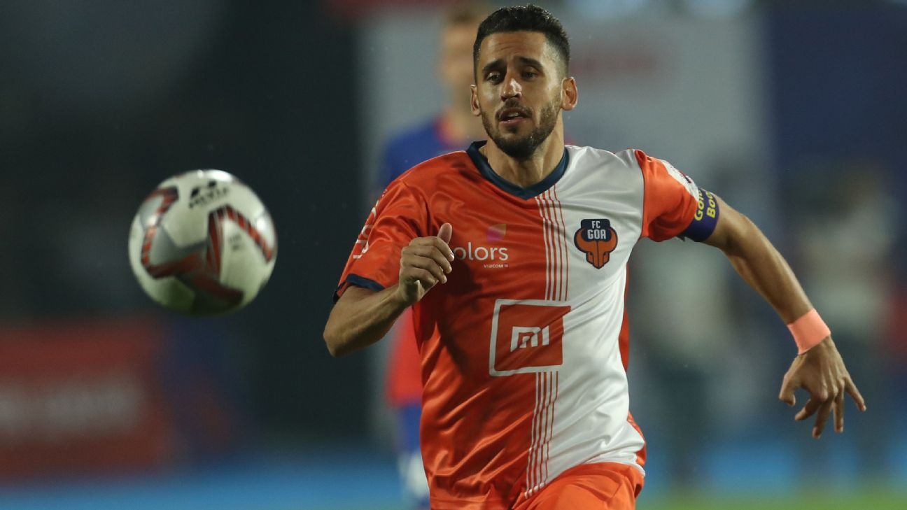 Goa's Ferran Corominas was arguably the best player in the ISL this season.