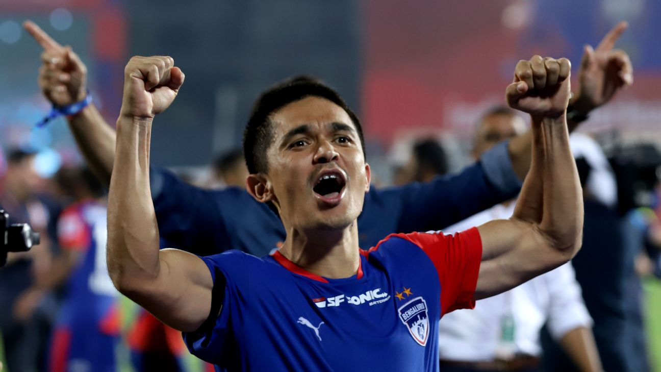 'That 100% all-out-ness is what grabs you by the scruff and screams in your face when you think of Sunil Chhetri.'