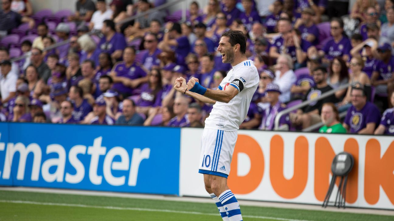 Even at 34, Ignacio Piatti remains one of the best Latin players in MLS. The Argentine now has 71 goals for Montreal since arriving from San Lorenzo in 2014.