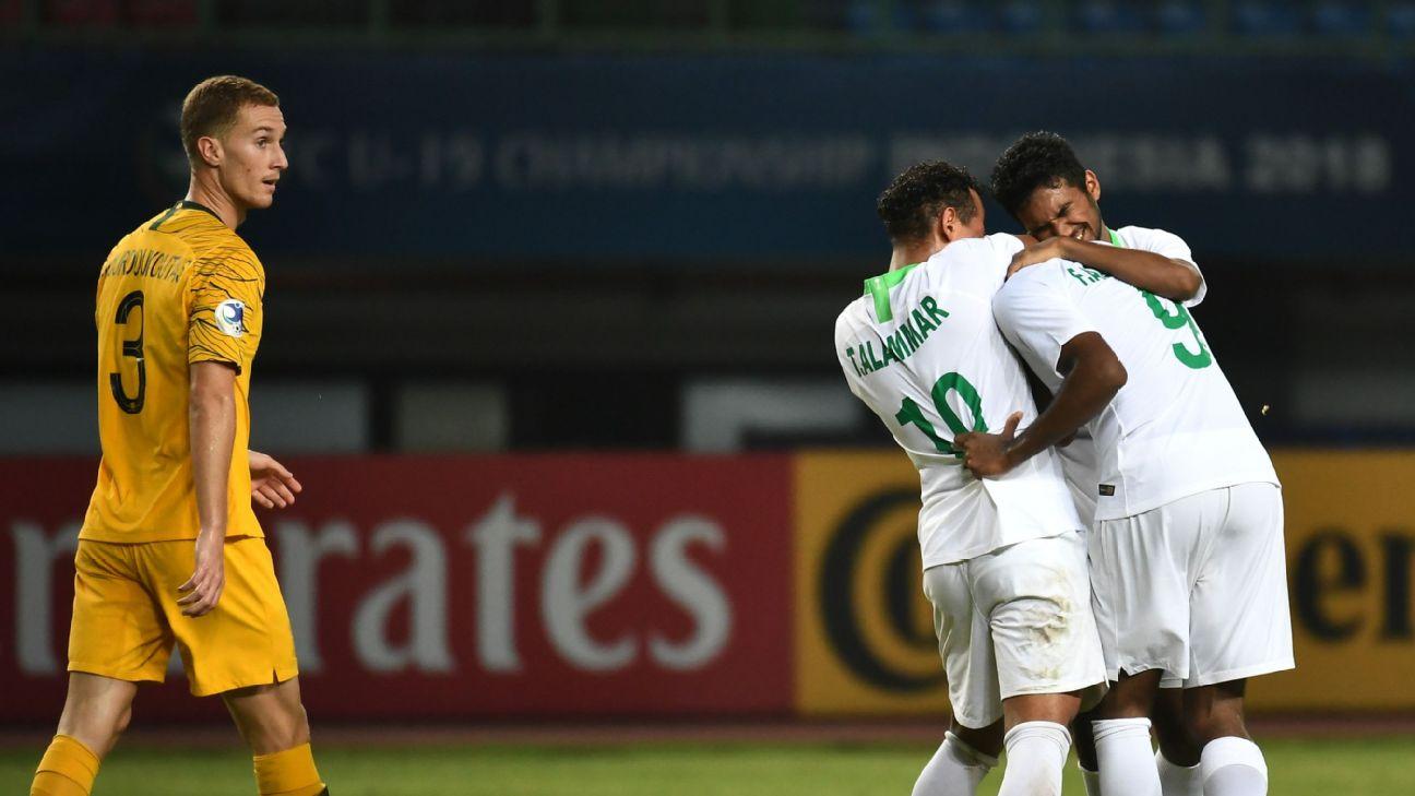 Saudi Arabia defeats Australia