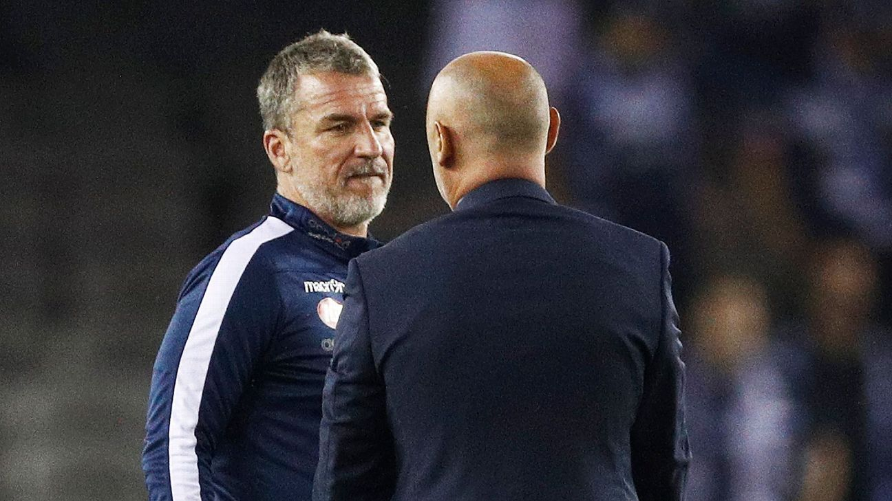 Marco Kurz and Kevin Muscat