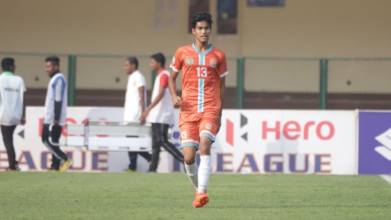 Gaurav Bora scored the goals that sealed the I-League title for Chennai City.