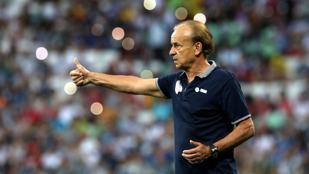 Gernot Rohr wants his Super Eagles to show 'mental strength'.