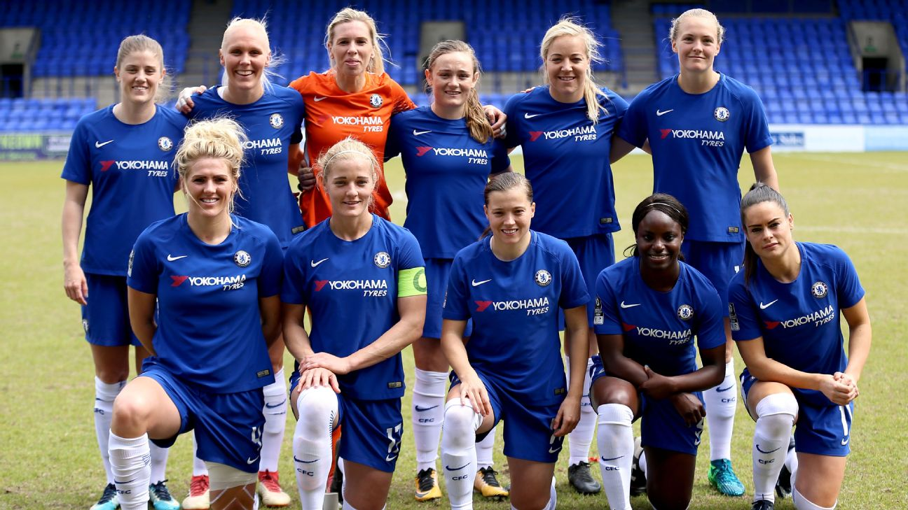 Chelsea Ladies team