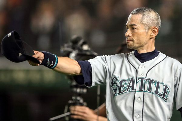 Ichiro Suzuki Stats News Pictures Bio Videos Seattle