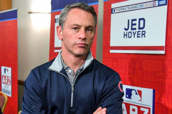 Hoyer: Major roster shake-up 'right thing' for Cubs