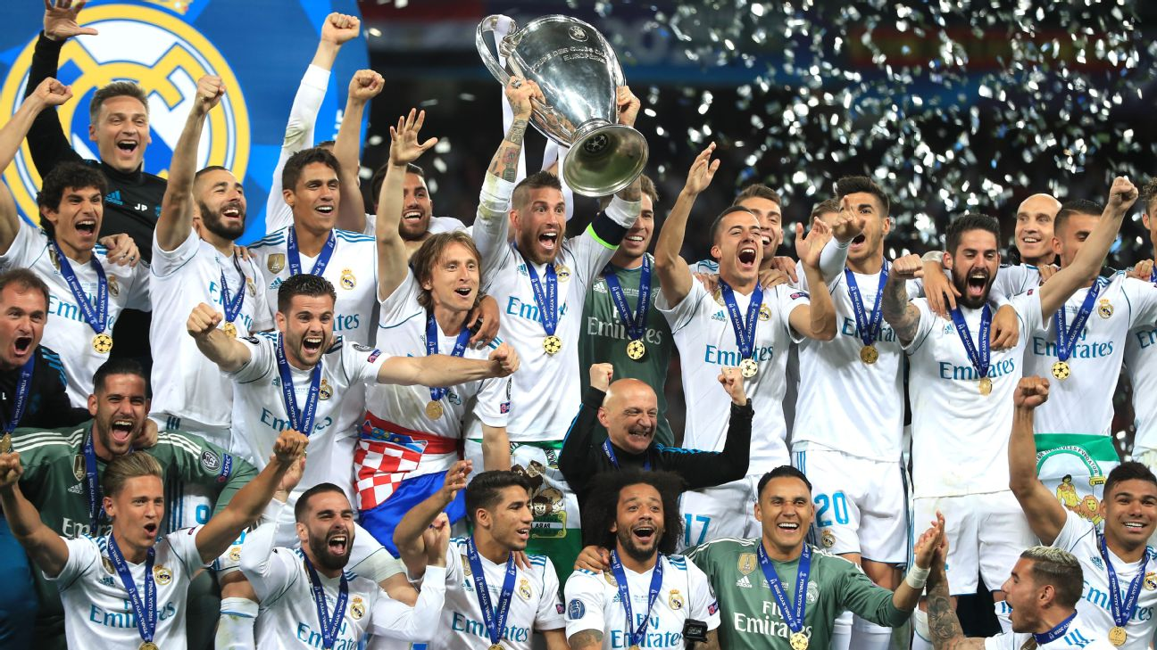 Real Madrid, Champions League final