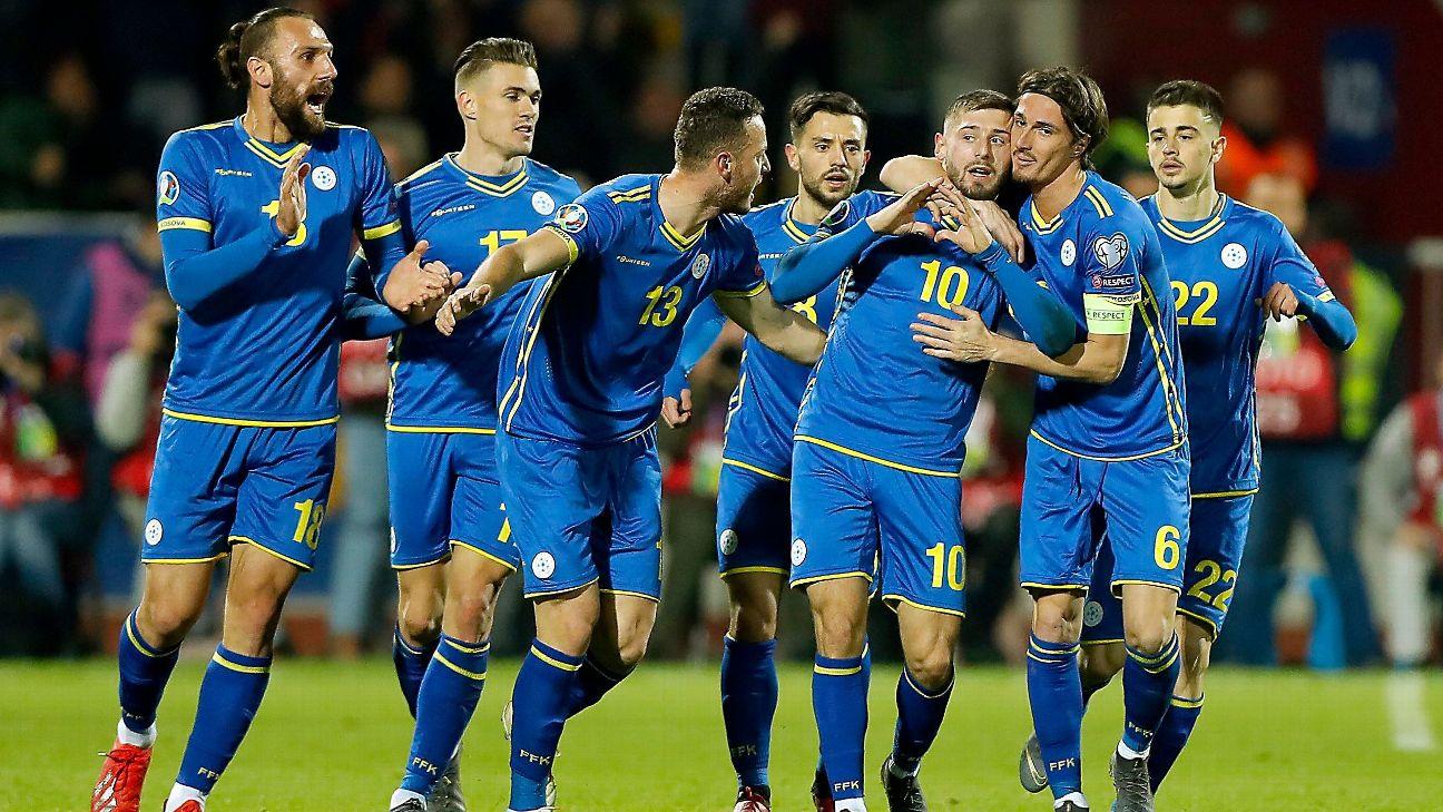 نتيجة بحث الصور عن kosovo football team fans 2019