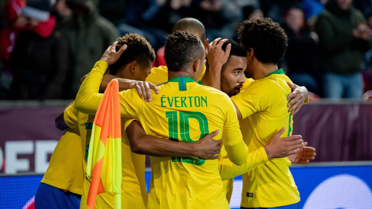 Gabriel Jesus and Everton were two changes that paid dividends for Tite and Brazil against the Czech Republic.