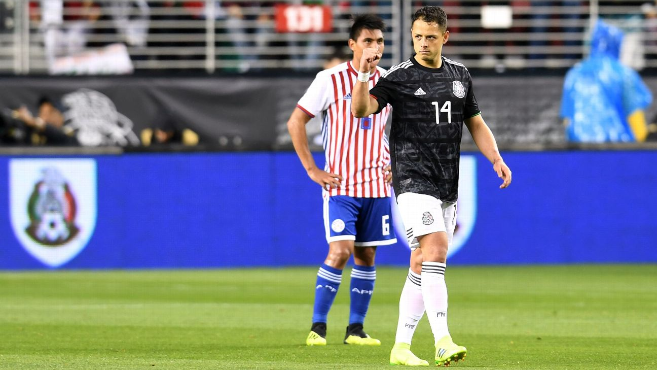 Javier Hernandez is set to be part of his fourth World Cup cycle with Mexico.