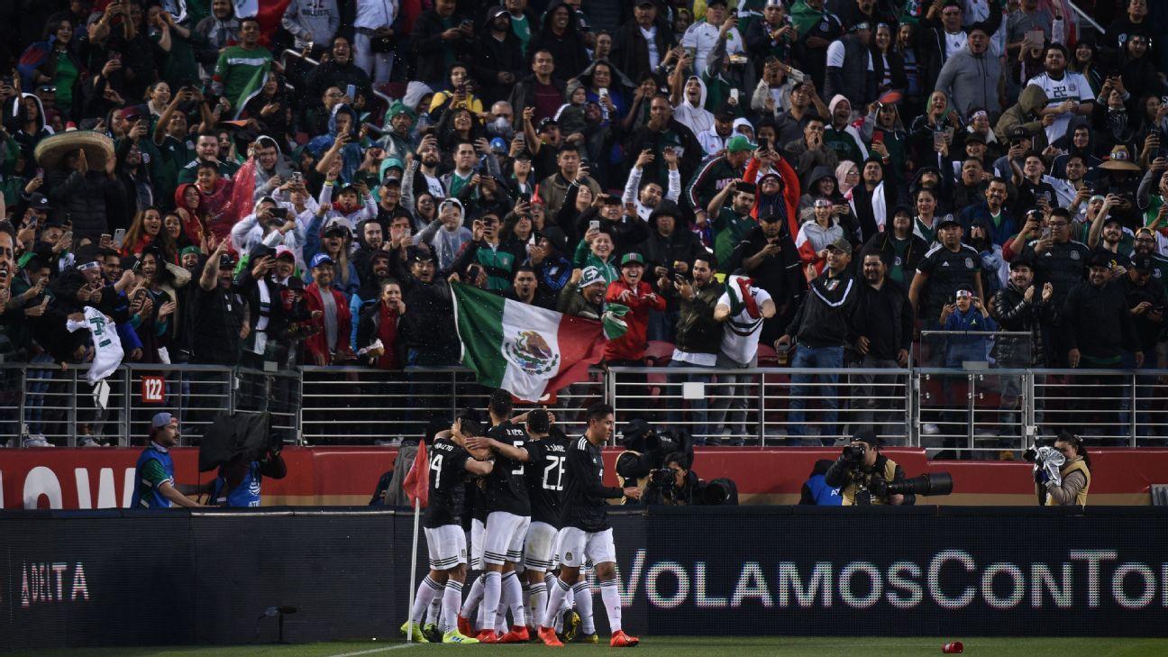 Mexico vs  Venezuela - Football Match Stats - June 7, 2019 - ESPN
