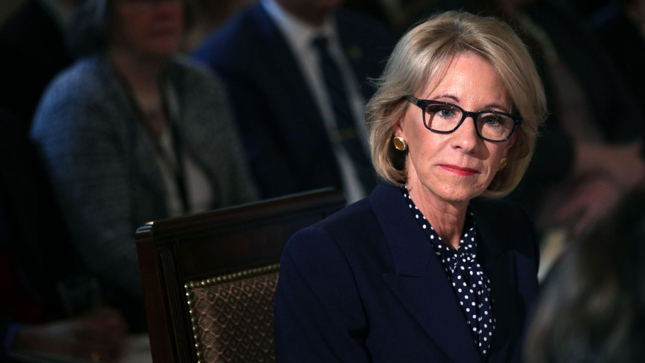 Special Education Chiefs To Devos Dont >> Devos Defends Plan To Cut Special Olympics Funds
