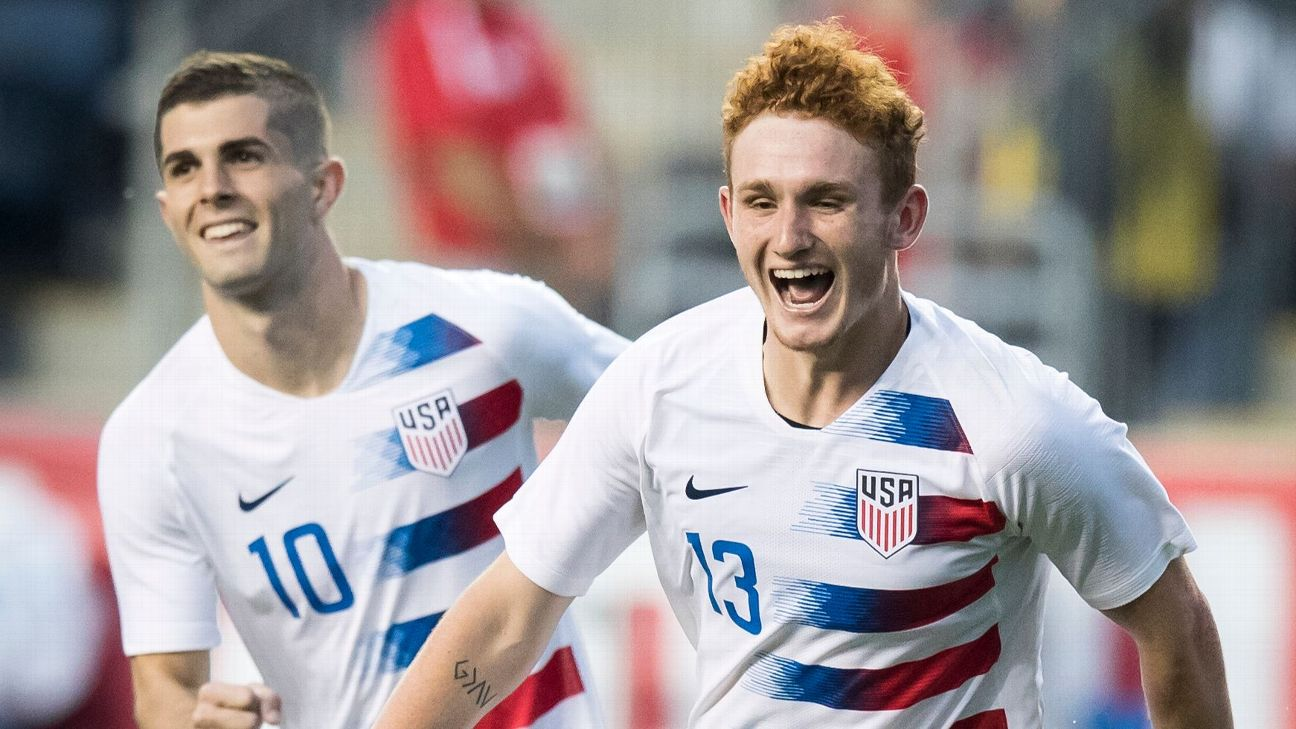 Christian Pulisic, 20, and Josh Sargent, 19,  are two prospects the USMNT will lean on for the next decade-plus.