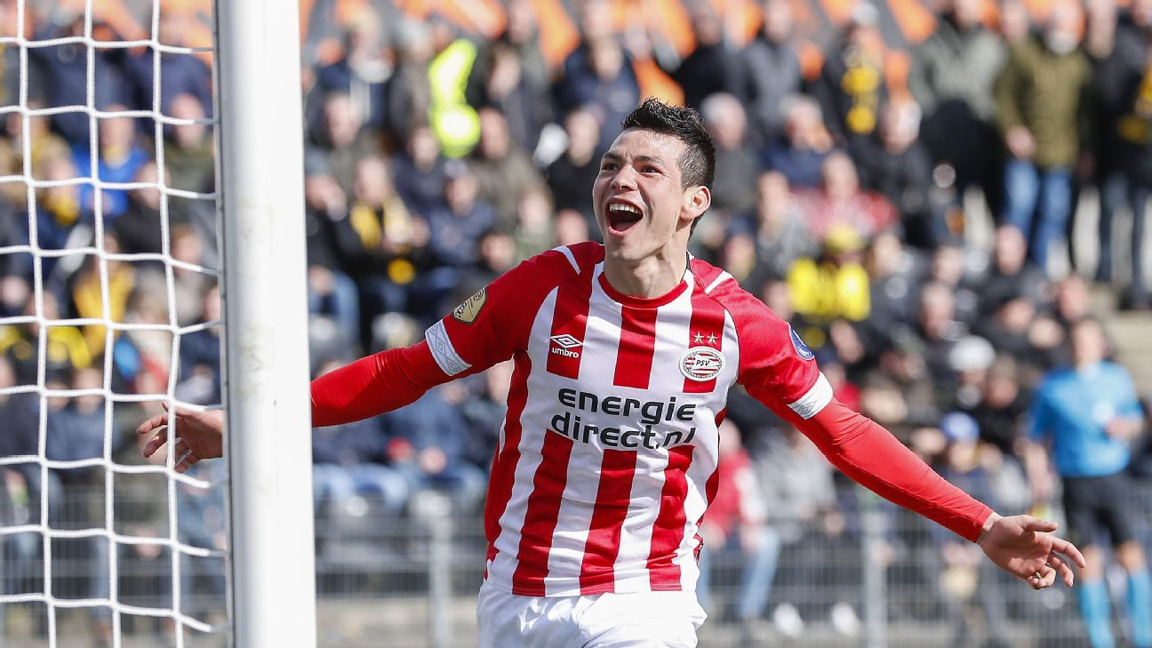 Hirving Lozano, PSV Eindhoven