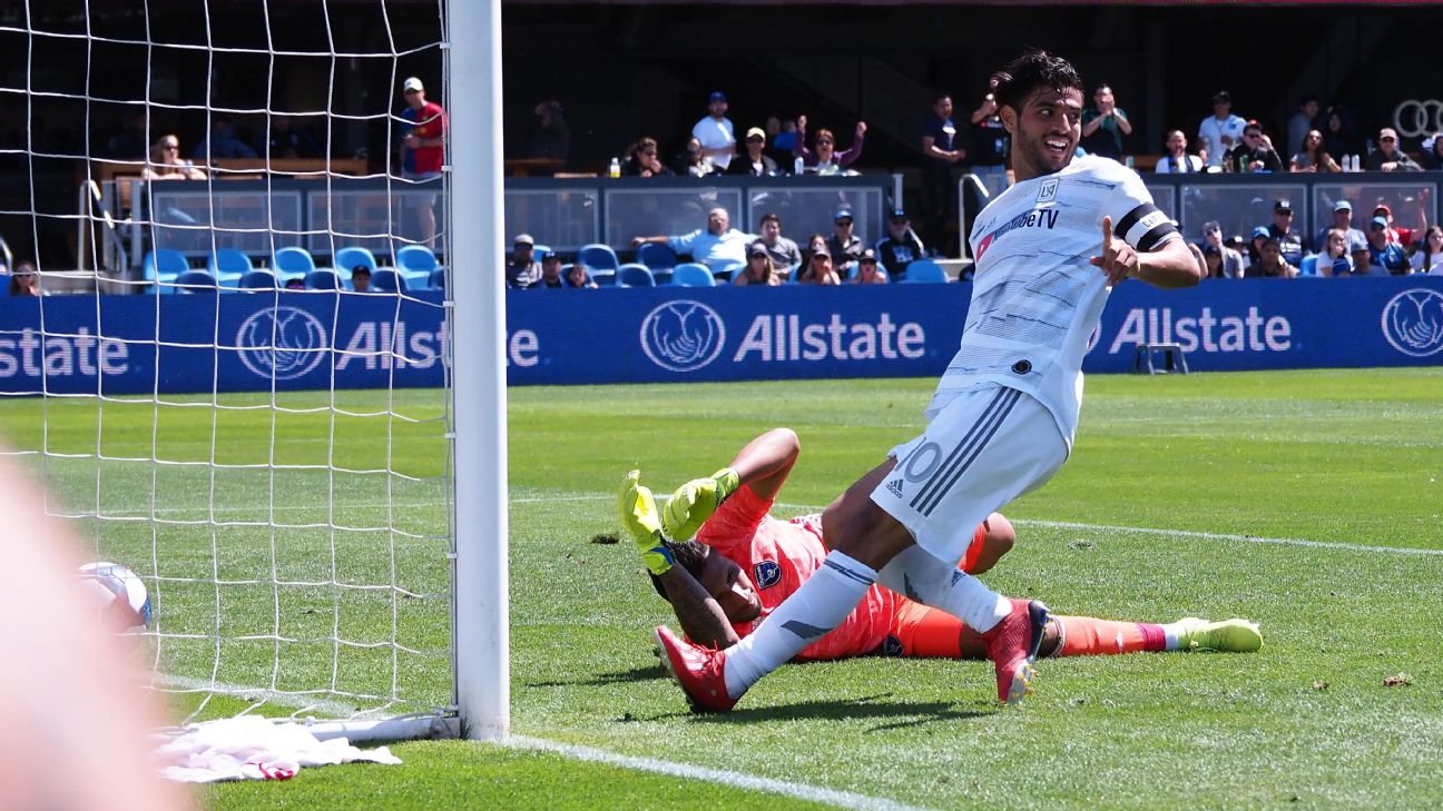 Carlos Vela runs away with MLS Latino of the Week honors; Marco Fabian also impresses