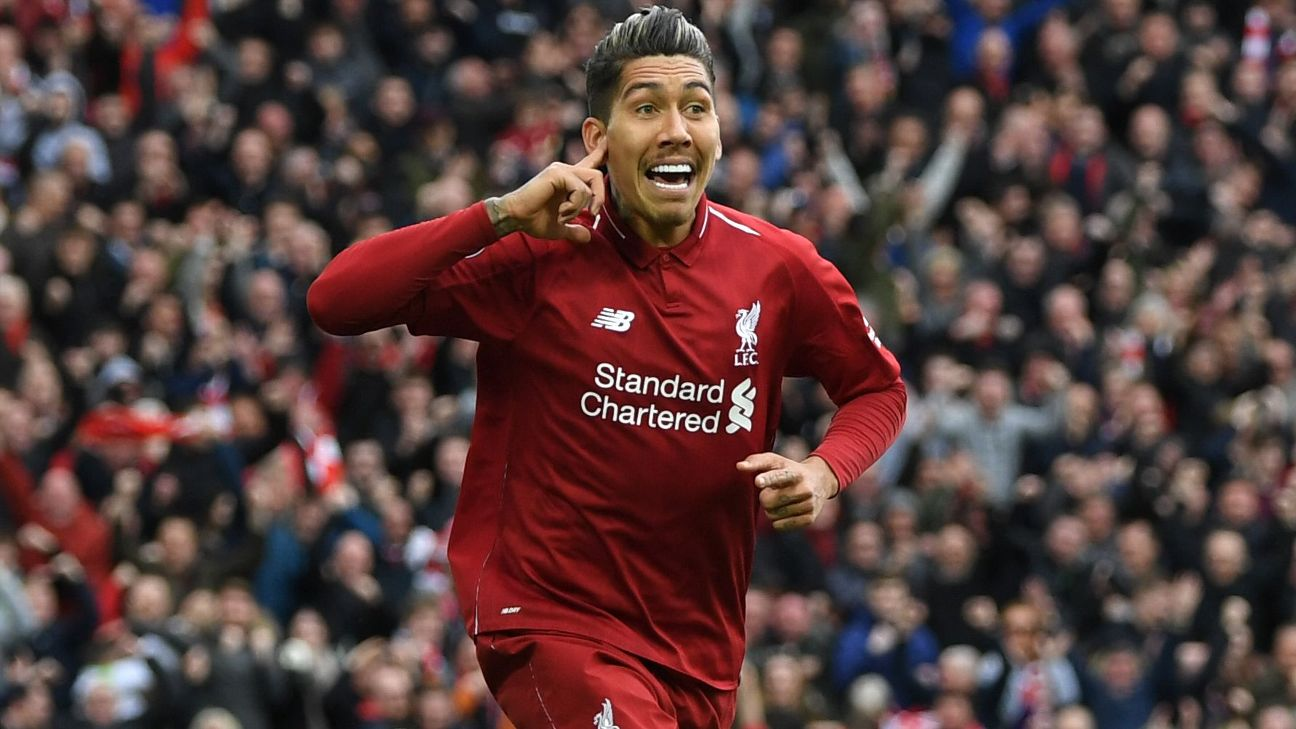 Roberto Firmino, Andy Robertson lead the charge as Liverpool snatch crucial late victory 8