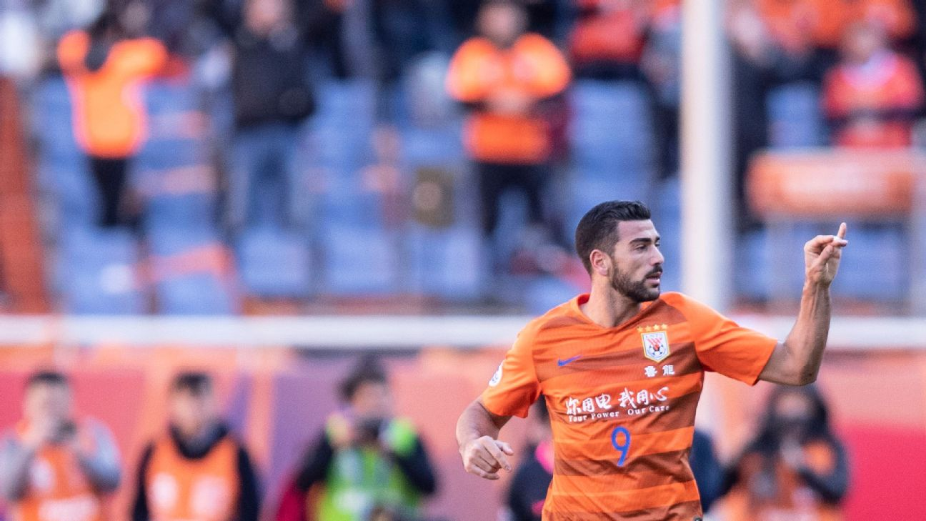 Graziano Pelle and Shandong Luneng have made an unbeaten start to the Chinese Super League season.