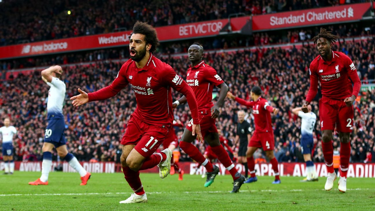 Liverpool's pace and emotion lifted them to victory vs. Spurs but such passion can hurt a title race 5