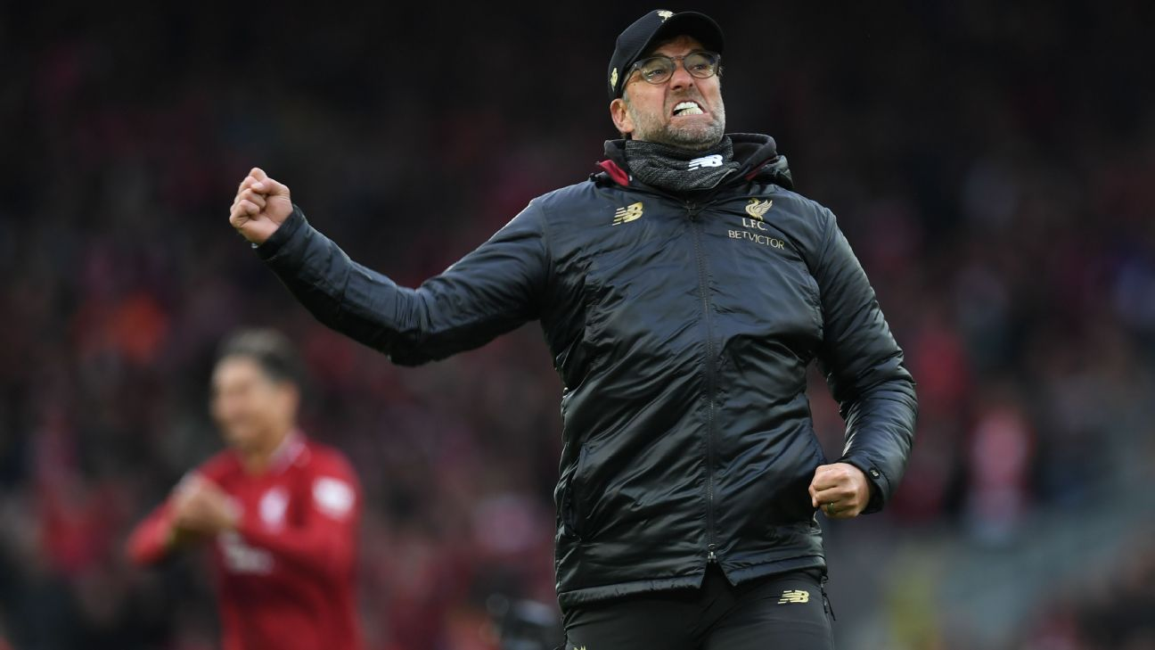 Liverpool's pace and emotion lifted them to victory vs. Spurs but such passion can hurt a title race 4