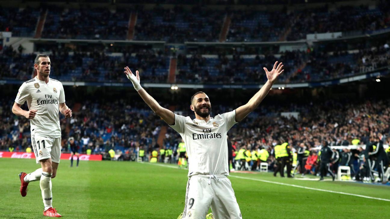 Karim Benzema has been a rare bright spot in a difficult season for Real Madrid with 23 goals over all competitions.