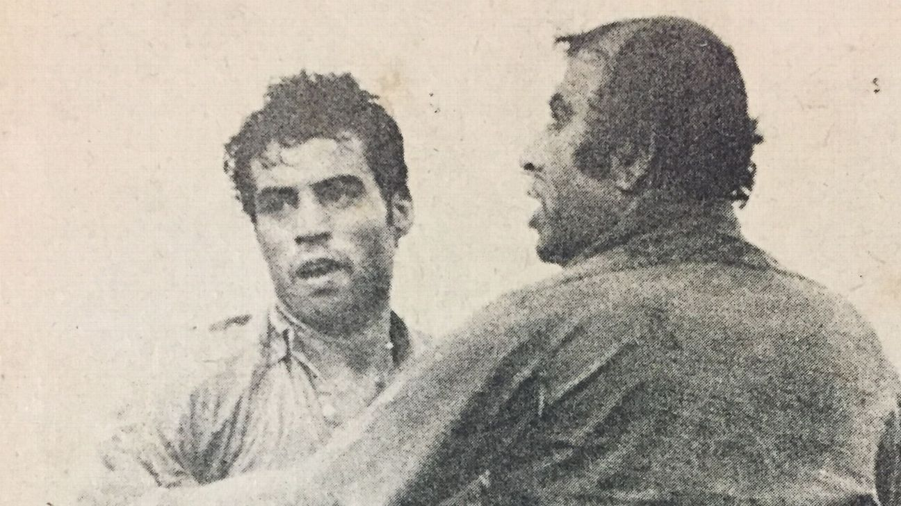 PK Banerjee (right) scored in all but one game at the 1962 Asian Games, where India won the gold.