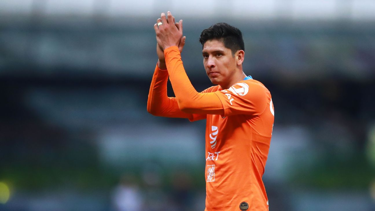 Once viewed as a centre-back, Edson Alvarez is flourishing in central midfield both with America and Mexico.
