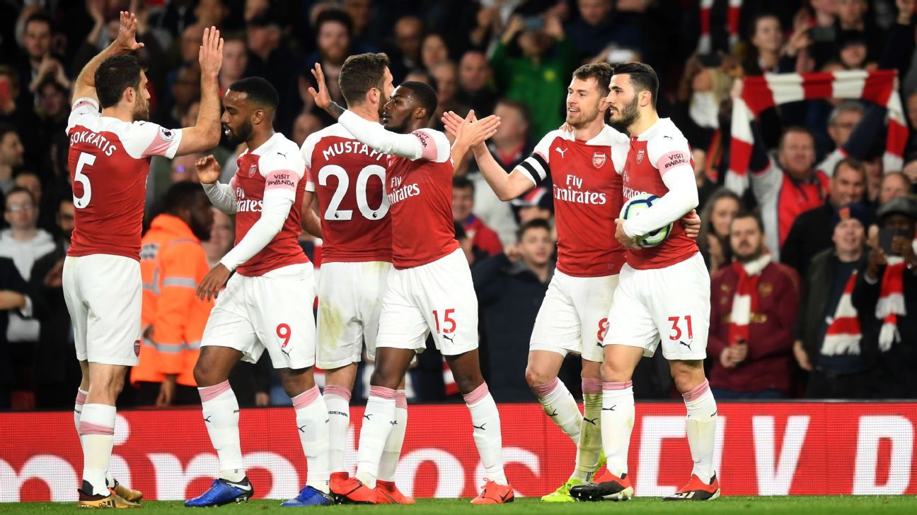 Arsenal vs. Newcastle United - Football Match Report - April 1, 2019 2