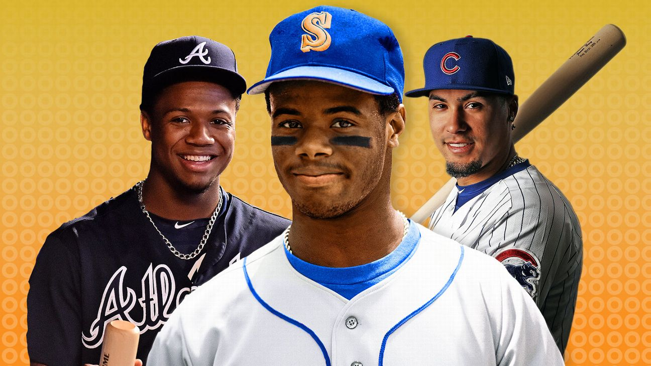 450f61b3ee Ranking today's MLB stars by their Griffey Factor | abc7chicago.com