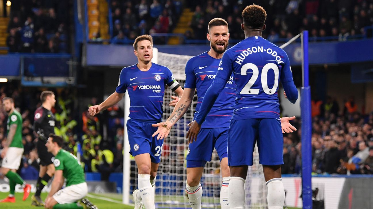 Chelsea vs. Brighton & Hove Albion - Football Match Report - April 3, 2019 2