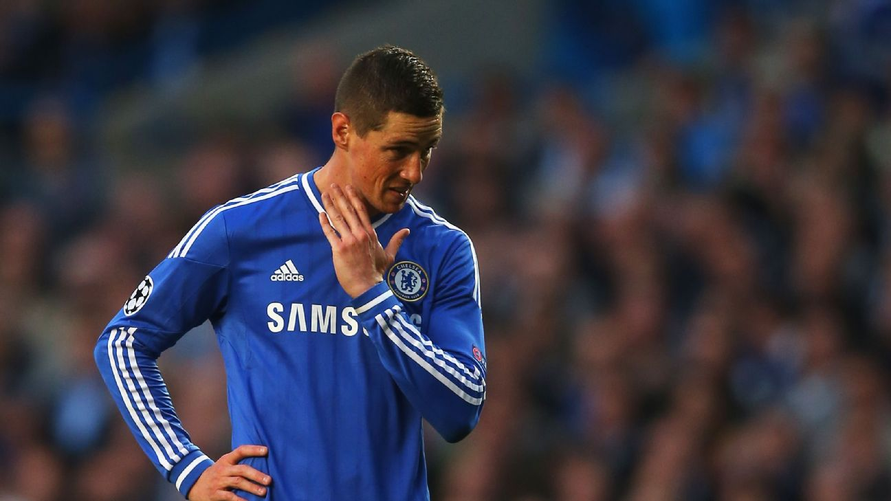 Fernando Torres scored just 20 league goals in 110 games for Chelsea and never rediscovered his Liverpool form afterwards.