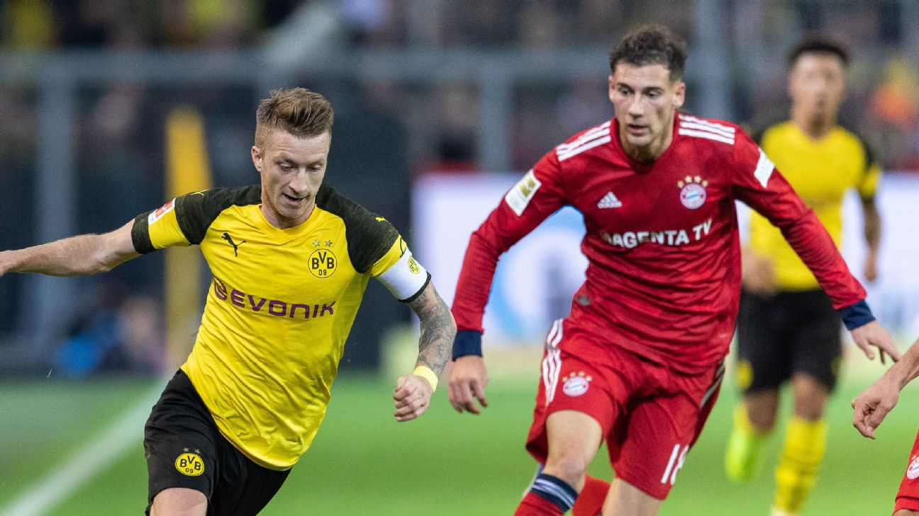 Borussia Dortmund vs. Bayern Munich is always Germany's biggest game but this year has added significance given the Bundesliga title race.